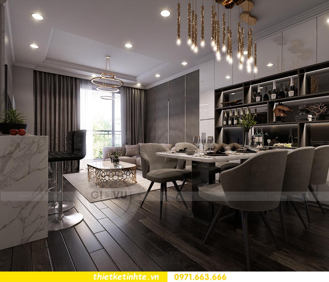 thiết kế nội thất Vinhomes Gardenia căn hộ 11 tòa A3 02