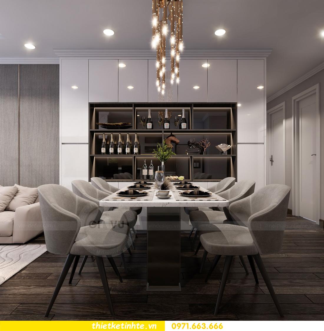 thiết kế nội thất Vinhomes Gardenia căn hộ 11 tòa A3 03