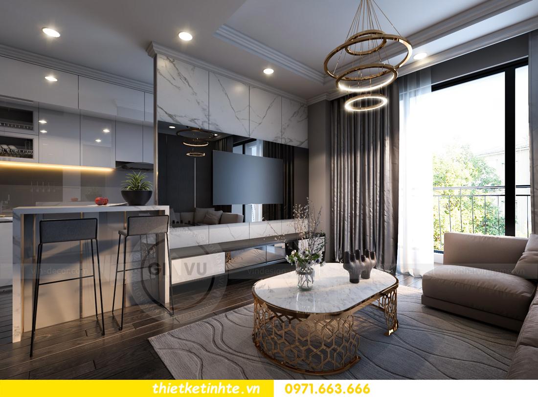 thiết kế nội thất Vinhomes Gardenia căn hộ 11 tòa A3 04