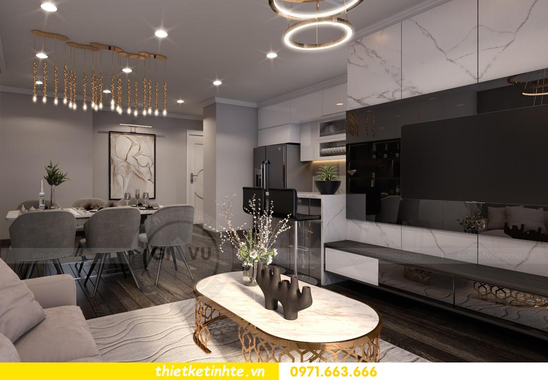 thiết kế nội thất Vinhomes Gardenia căn hộ 11 tòa A3 05