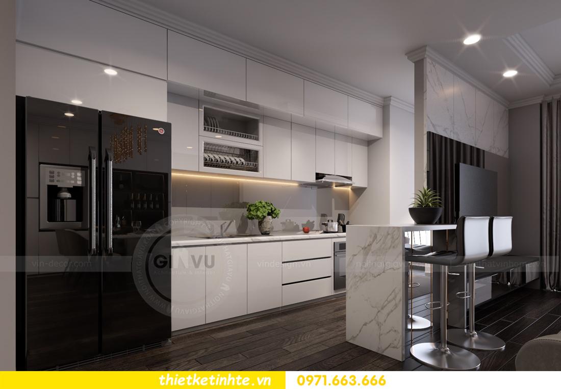 thiết kế nội thất Vinhomes Gardenia căn hộ 11 tòa A3 06