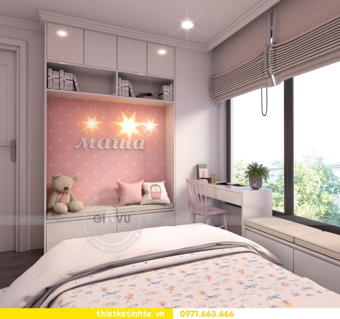 thiết kế nội thất Vinhomes Gardenia căn hộ 11 tòa A3 12