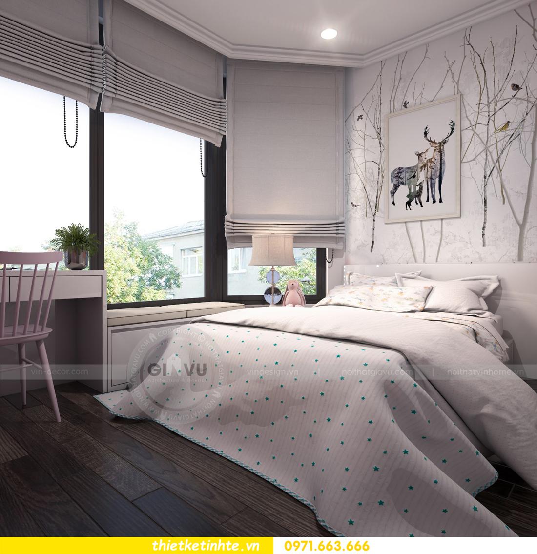 thiết kế nội thất Vinhomes Gardenia căn hộ 11 tòa A3 13