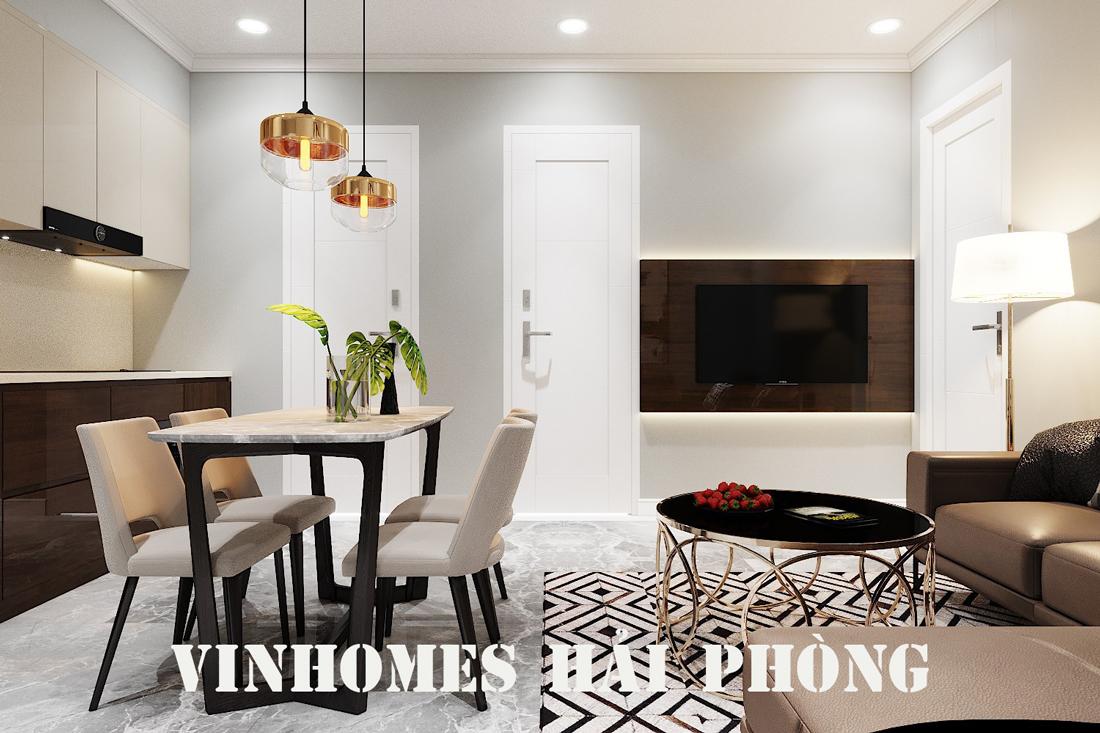 Thiết kế nội thất biệt thự Vinhomes Imperia phong cách hiện đại