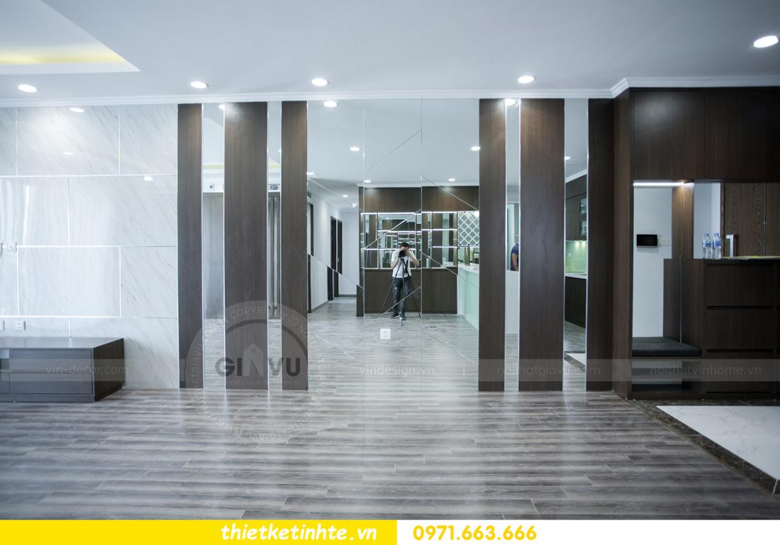 thi công nội thất chung cư Seasons Avenue căn 06 tòa s4 02