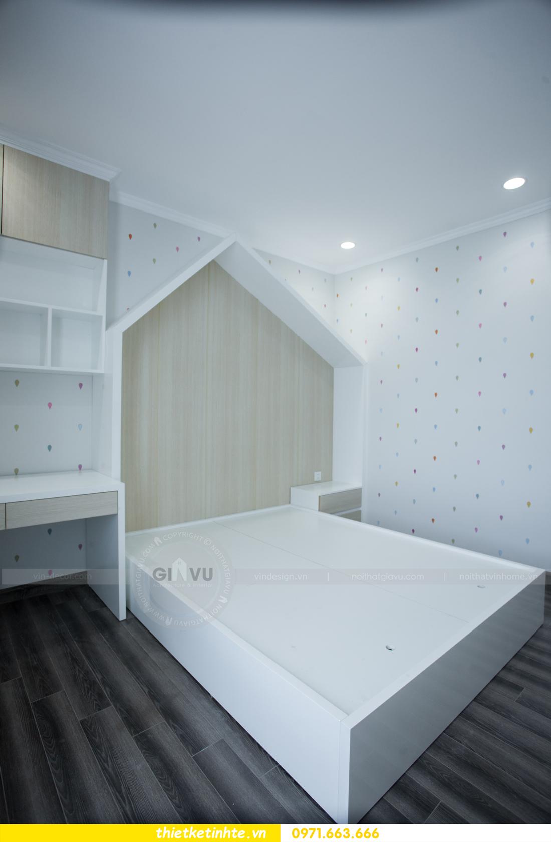 thi công nội thất chung cư Seasons Avenue căn 06 tòa s4 19