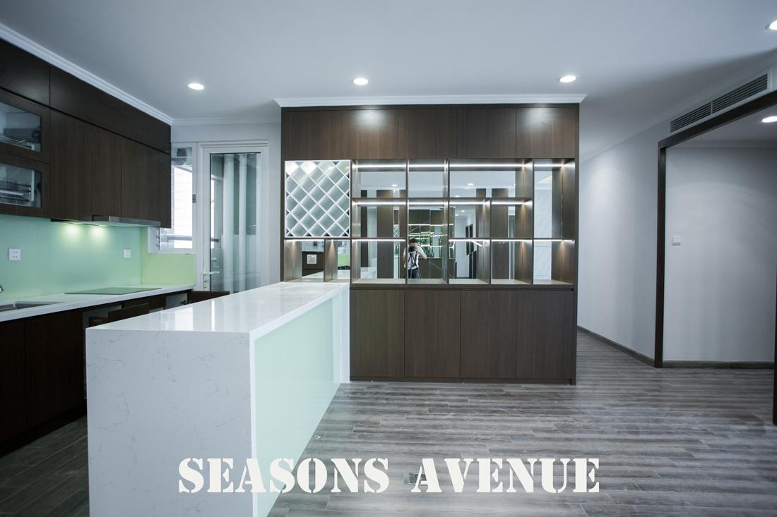 Thi Công Nội Thất Chung Cư Seasons Avenue Căn 06 Tòa S4 Nhà Chị My