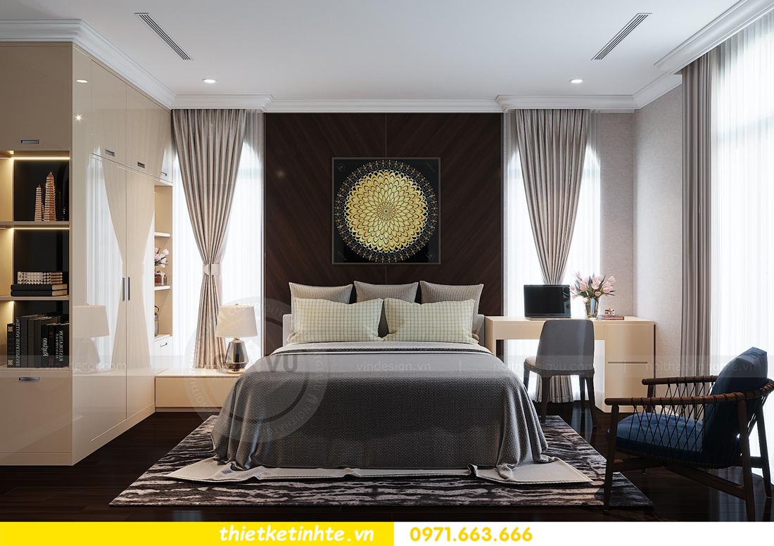 thiết kế nội thất biệt thự Vinhomes Imperia phong cách hiện đại 15