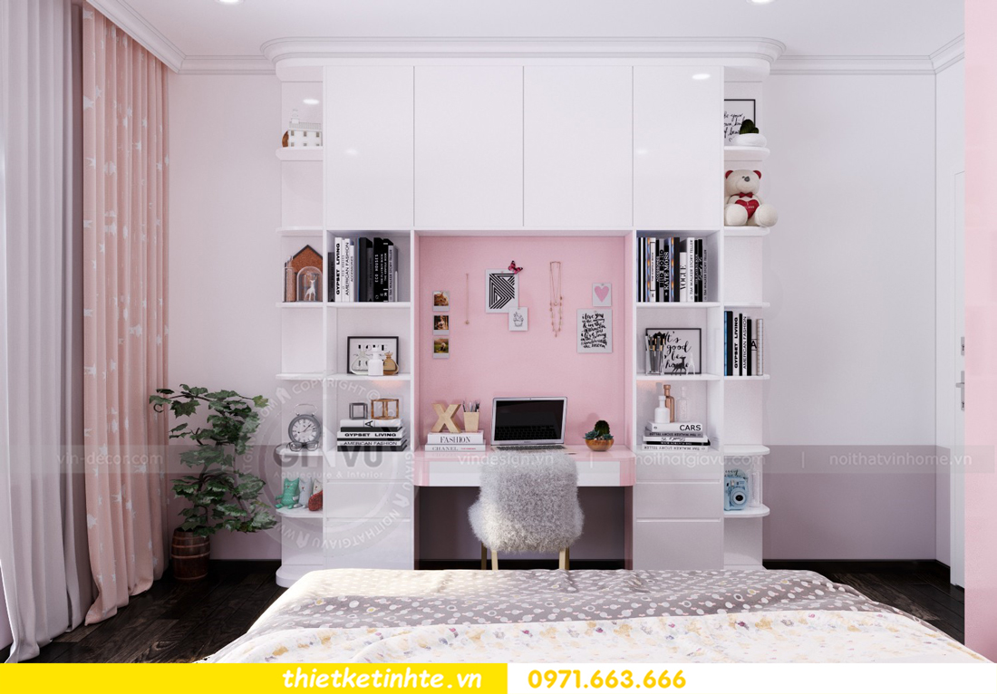 thiết kế nội thất biệt thự Vinhomes Imperia phong cách hiện đại 18