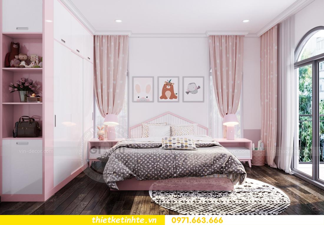 thiết kế nội thất biệt thự Vinhomes Imperia phong cách hiện đại 20
