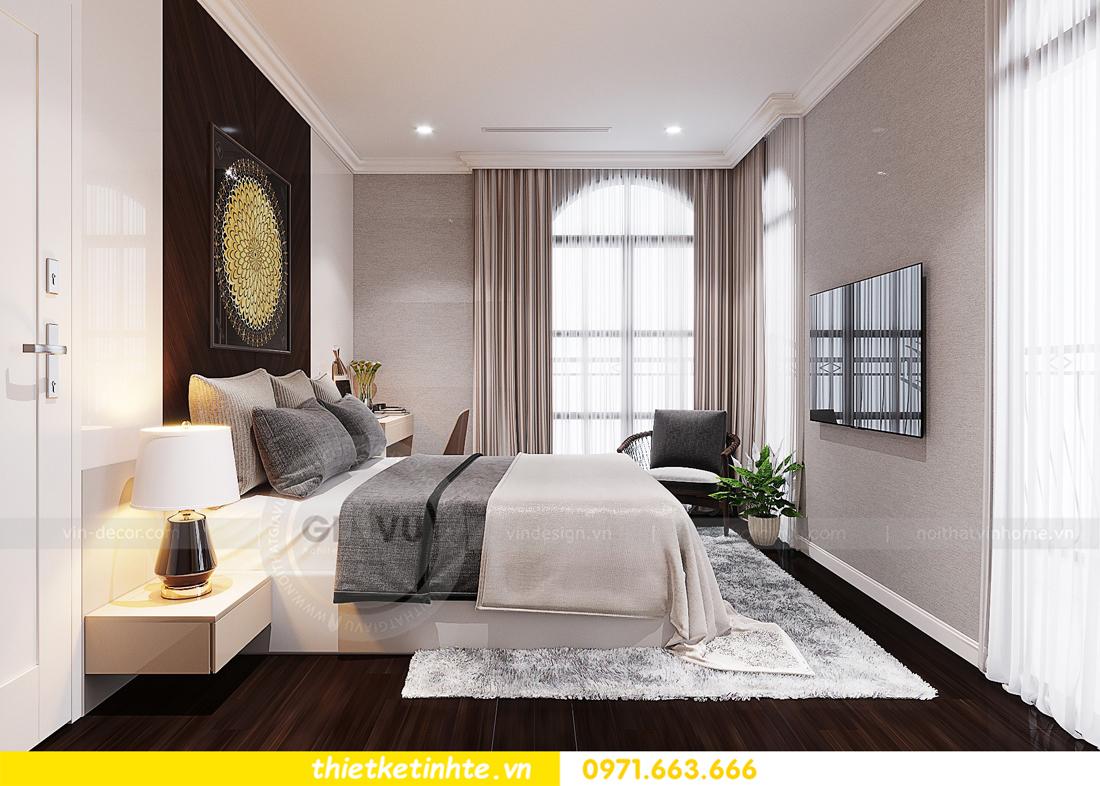 thiết kế nội thất biệt thự Vinhomes Imperia phong cách hiện đại 25