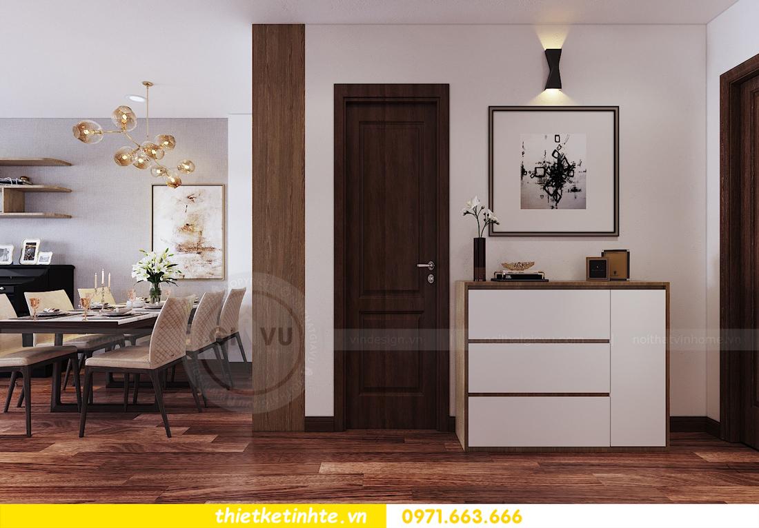 thiết kế nội thất chung cư Ngoại Giao Đoàn N01 T5 anh Dương 01