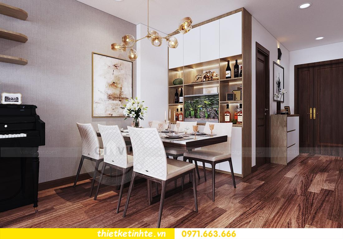thiết kế nội thất chung cư Ngoại Giao Đoàn N01 T5 anh Dương 02