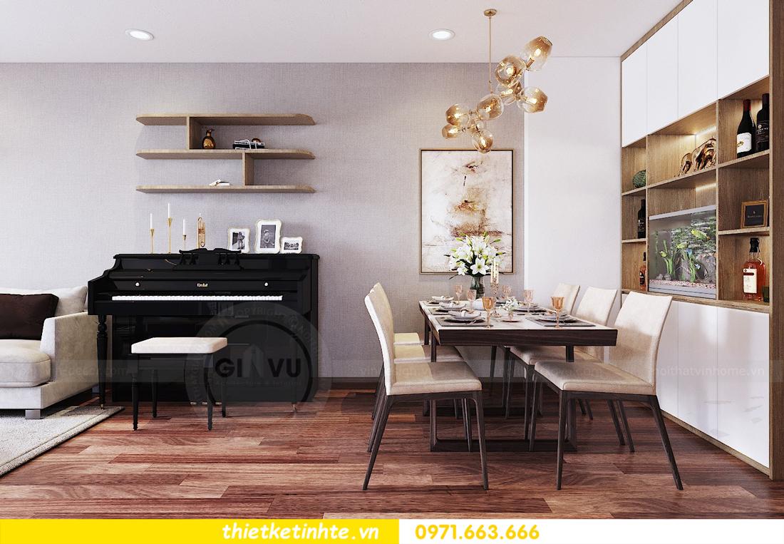 thiết kế nội thất chung cư Ngoại Giao Đoàn N01 T5 anh Dương 03