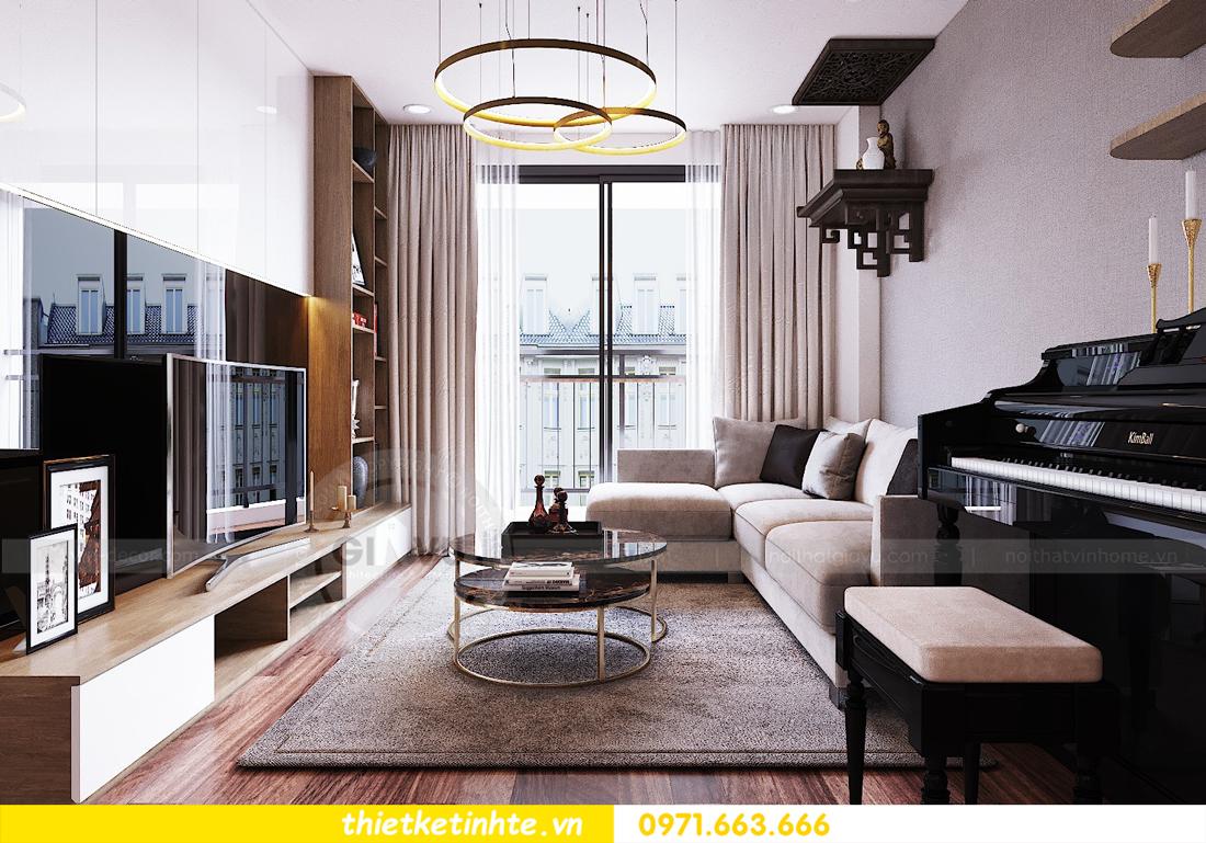 thiết kế nội thất chung cư Ngoại Giao Đoàn N01 T5 anh Dương 04