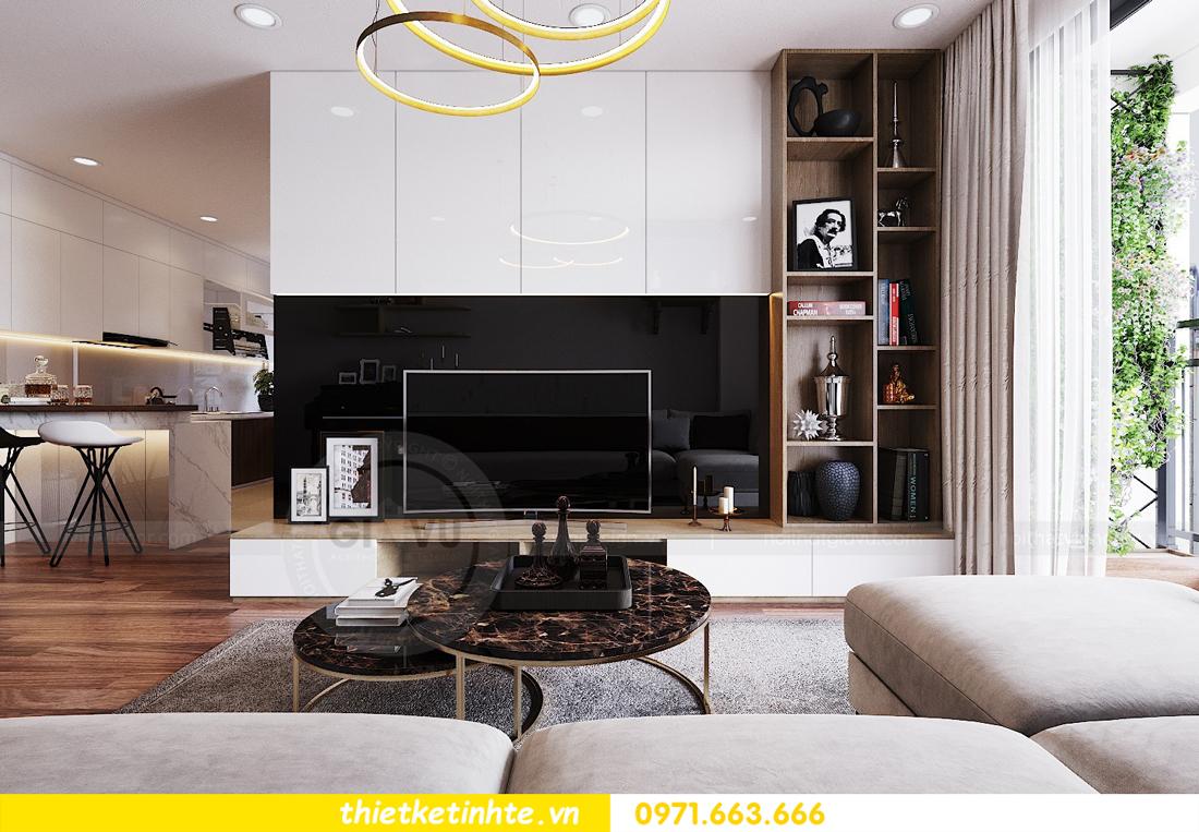 thiết kế nội thất chung cư Ngoại Giao Đoàn N01 T5 anh Dương 05