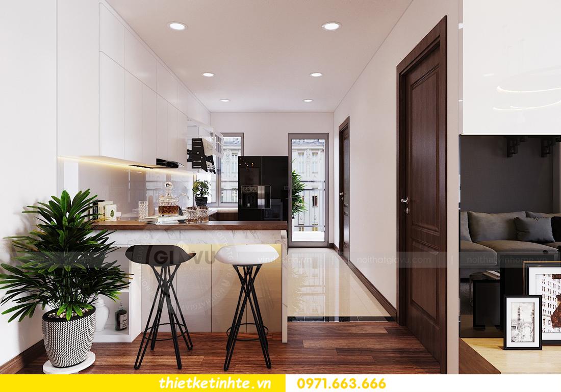 thiết kế nội thất chung cư Ngoại Giao Đoàn N01 T5 anh Dương 08