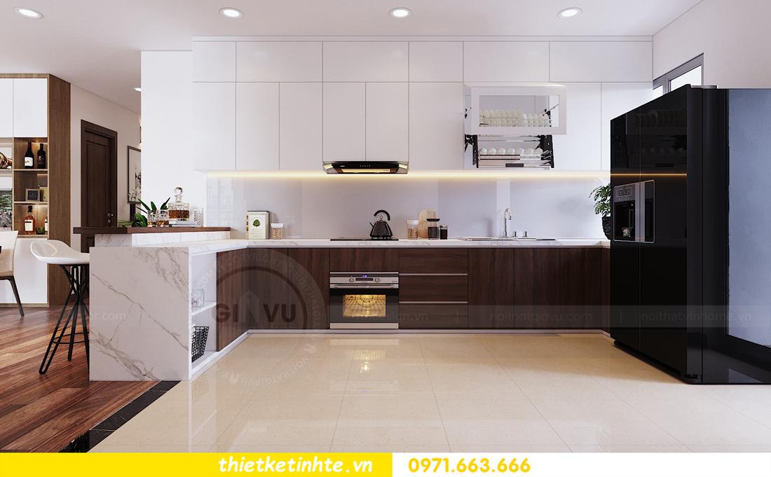 thiết kế nội thất chung cư Ngoại Giao Đoàn N01 T5 anh Dương 09