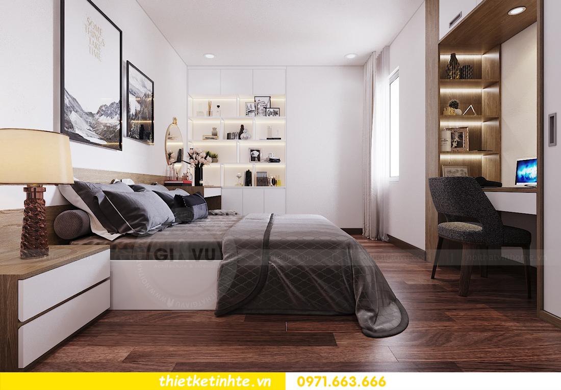 thiết kế nội thất chung cư Ngoại Giao Đoàn N01 T5 anh Dương 10