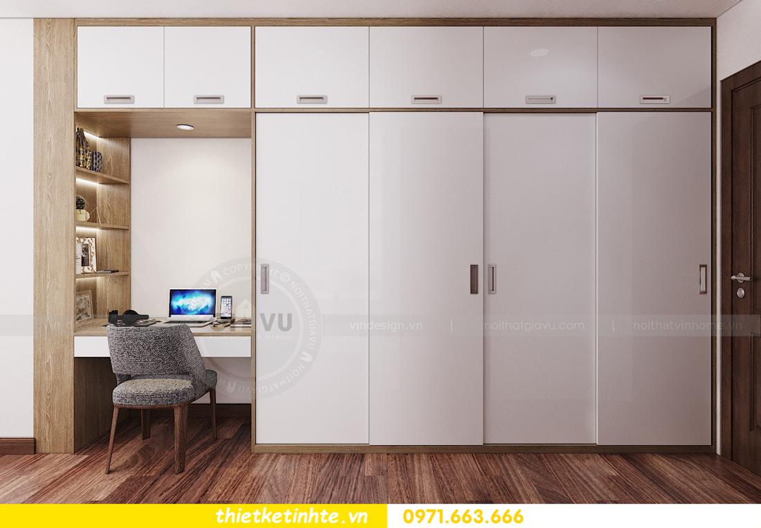 thiết kế nội thất chung cư Ngoại Giao Đoàn N01 T5 anh Dương 12