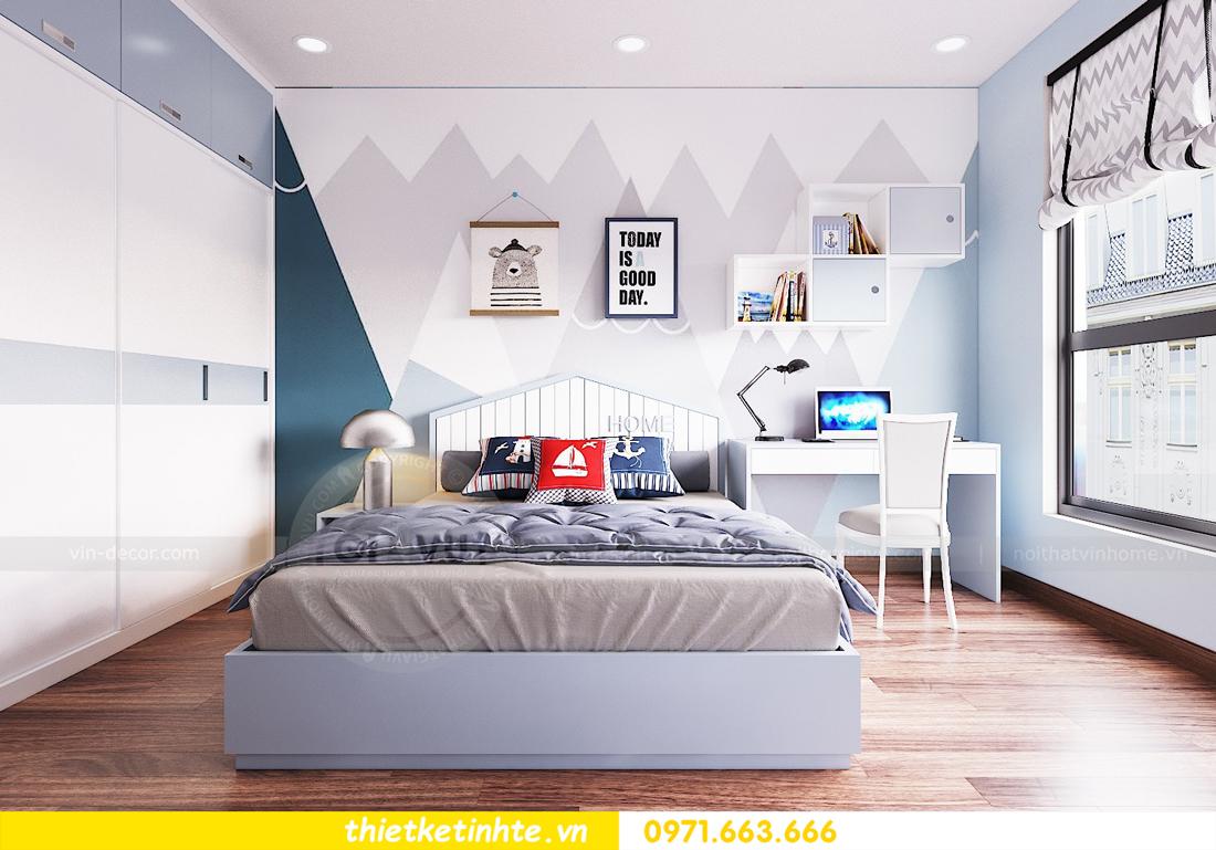 thiết kế nội thất chung cư Ngoại Giao Đoàn N01 T5 anh Dương 13