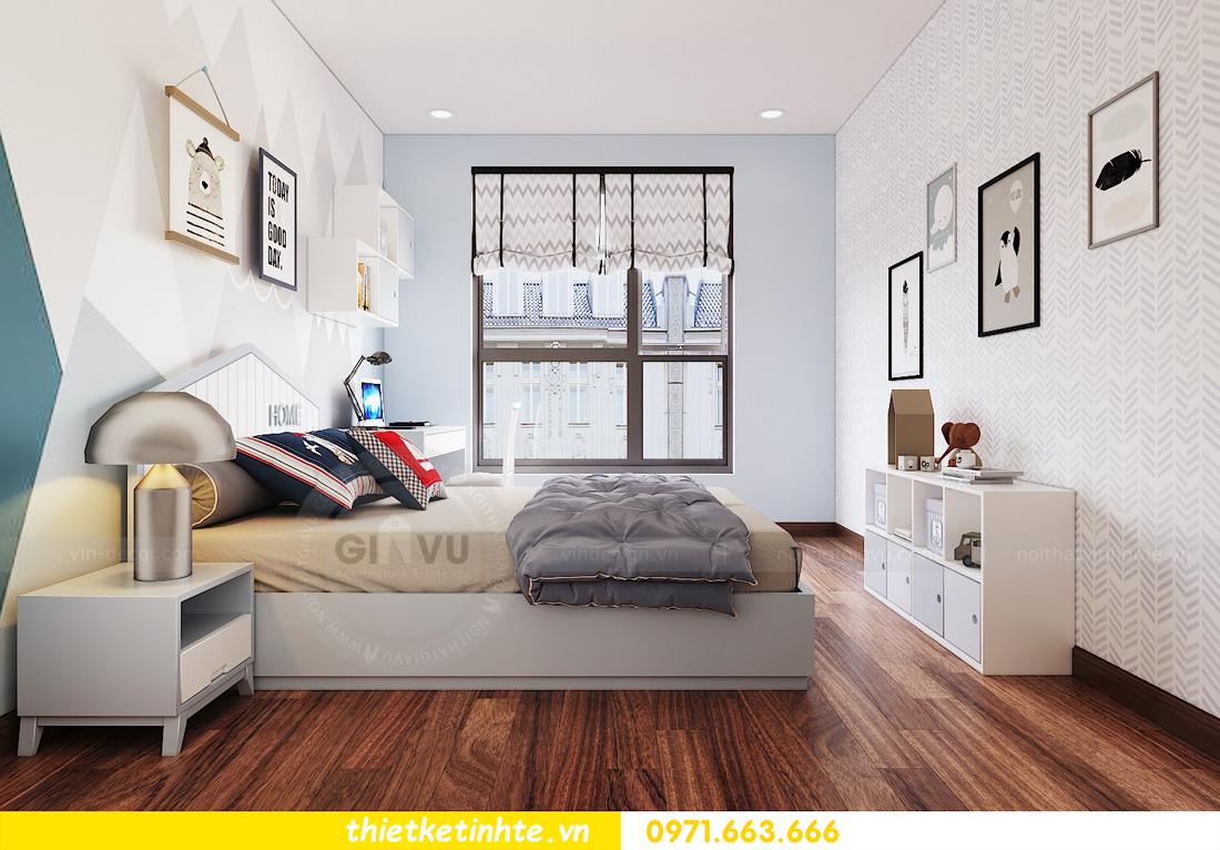 thiết kế nội thất chung cư Ngoại Giao Đoàn N01 T5 anh Dương 14