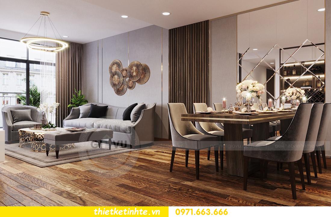 thiết kế nội thất Sun Grand City số 3 Lương Yên tòa T1 căn hộ 08 View 2
