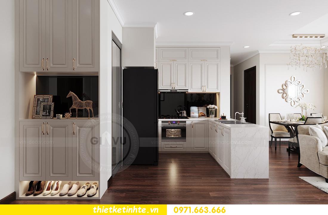 thiết kế nội thất căn hộ DCapitale tòa C1 căn 11 01