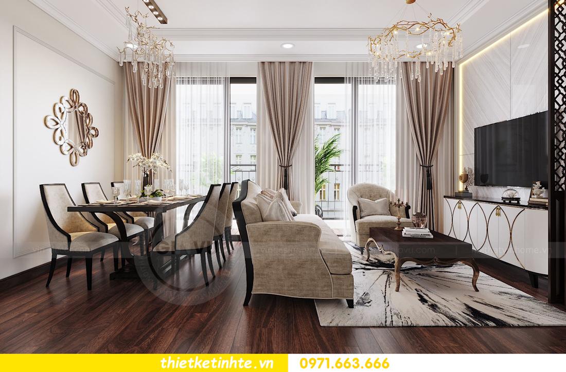 thiết kế nội thất căn hộ DCapitale tòa C1 căn 11 04