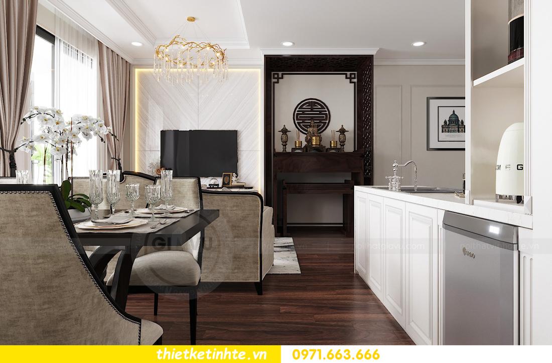 thiết kế nội thất căn hộ DCapitale tòa C1 căn 11 05
