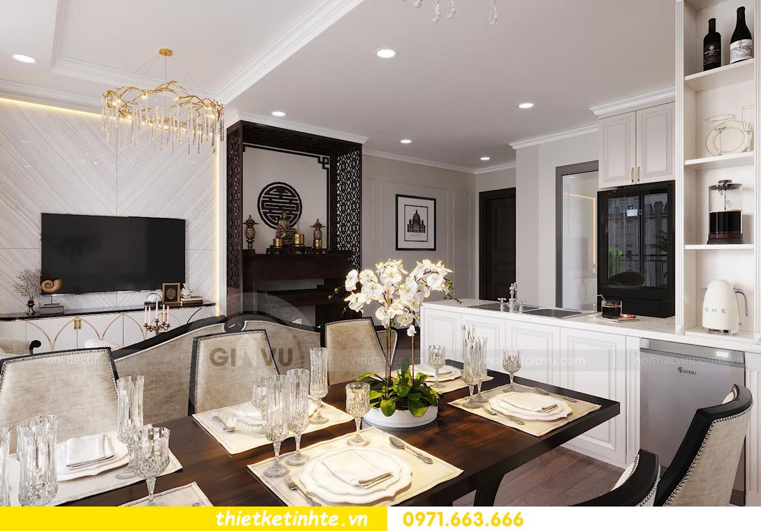 thiết kế nội thất căn hộ DCapitale tòa C1 căn 11 06