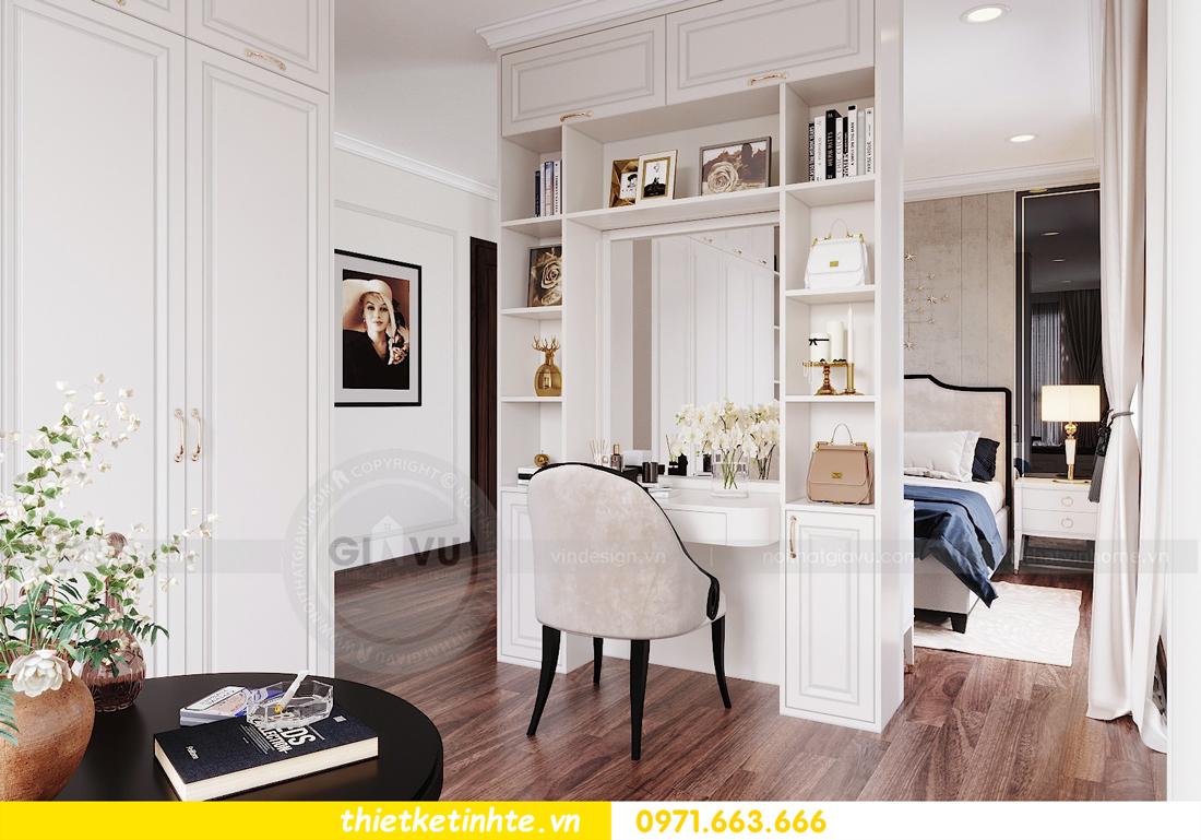 thiết kế nội thất căn hộ DCapitale tòa C1 căn 11 08