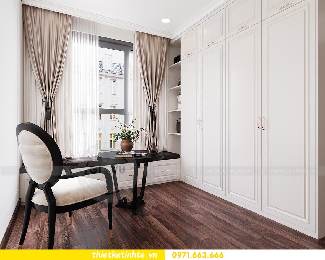 thiết kế nội thất căn hộ DCapitale tòa C1 căn 11 09