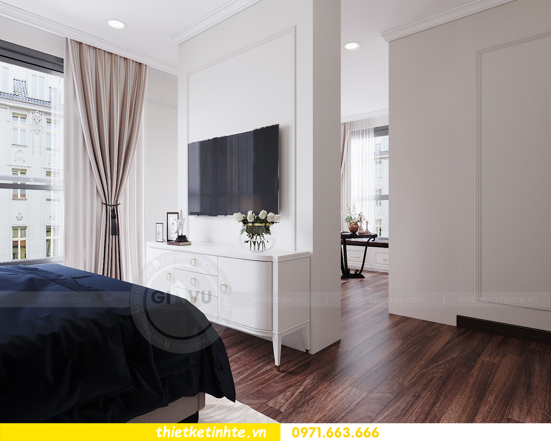 thiết kế nội thất căn hộ DCapitale tòa C1 căn 11 10