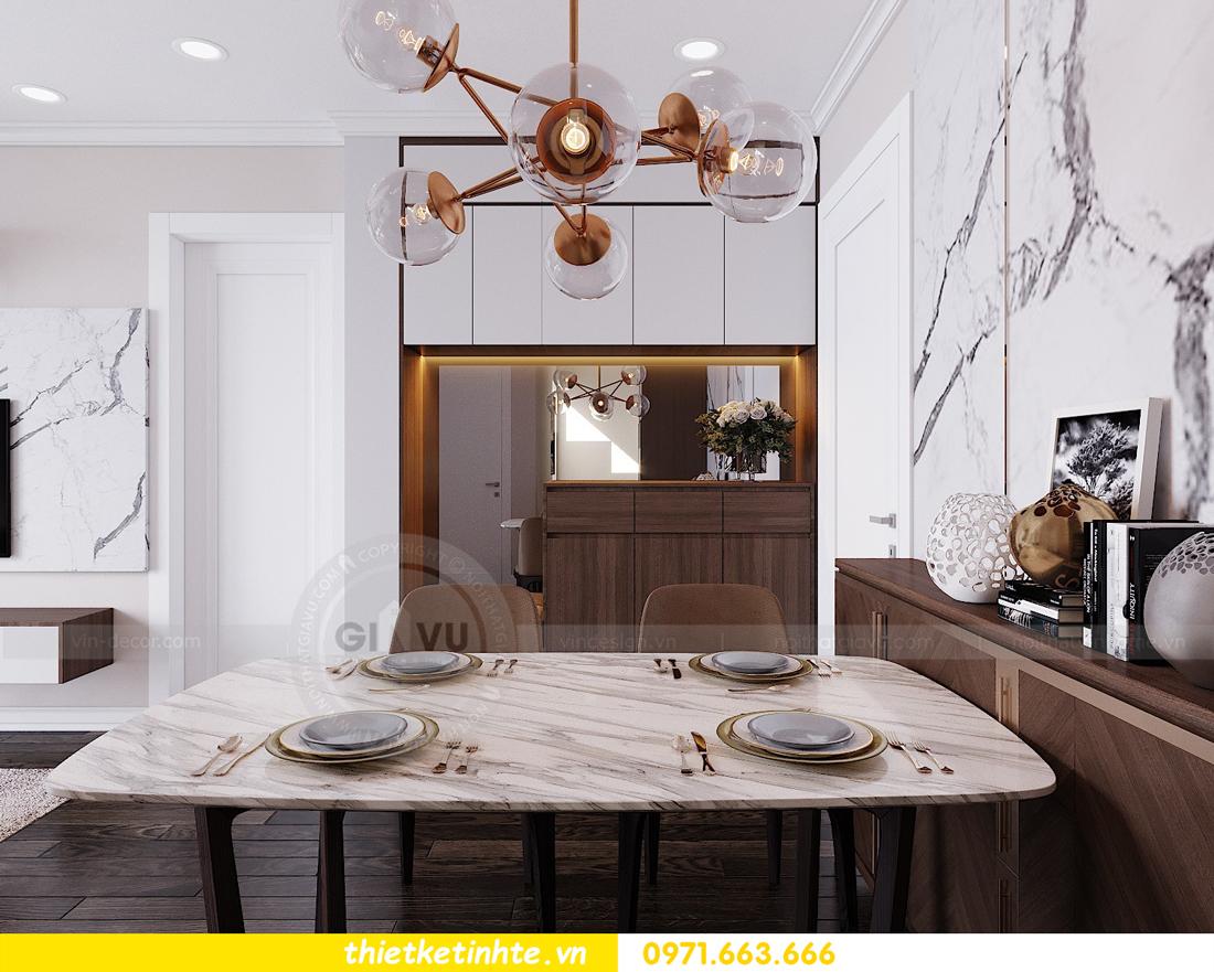 thiết kế nội thất căn hộ Vinhomes D Capitale tòa C7 02