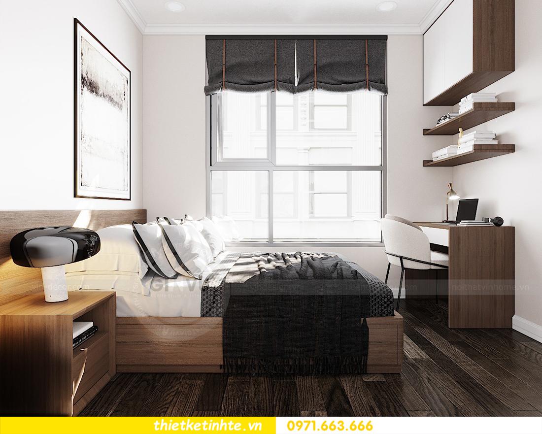 thiết kế nội thất căn hộ Vinhomes D Capitale tòa C7 07