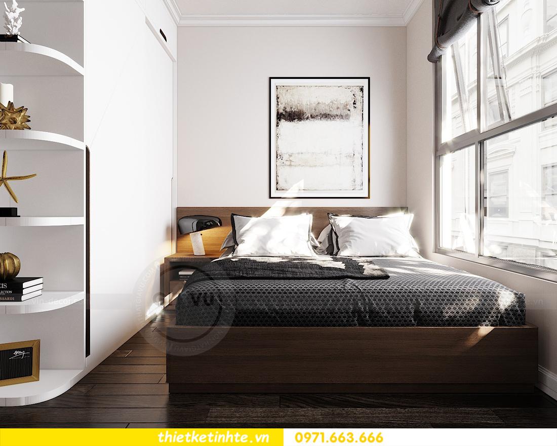 thiết kế nội thất căn hộ Vinhomes D Capitale tòa C7 08