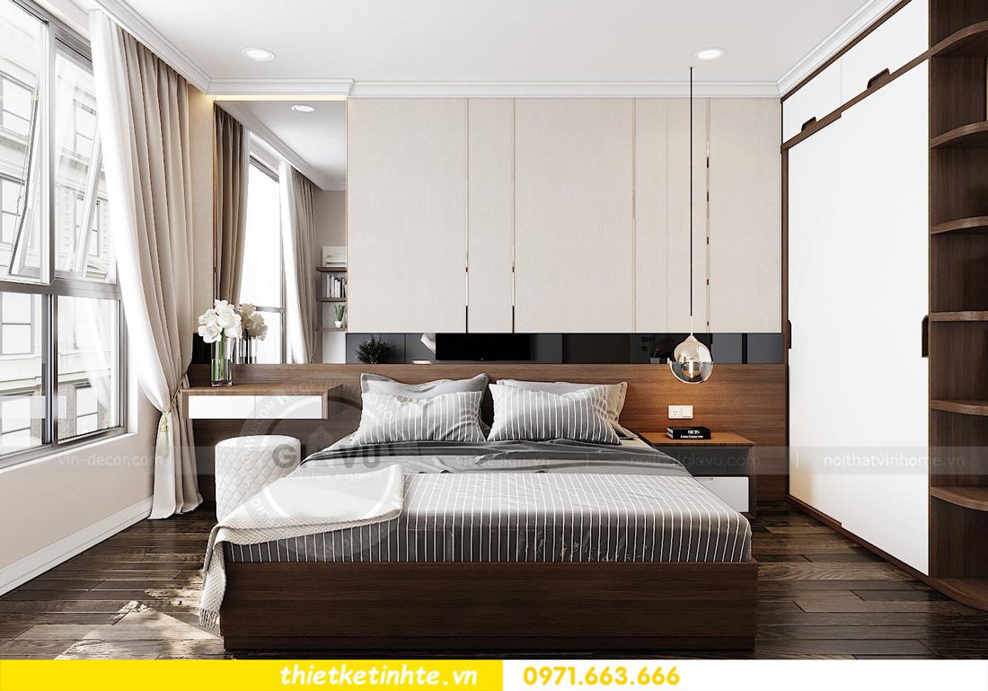 thiết kế nội thất căn hộ Vinhomes D Capitale tòa C7 09