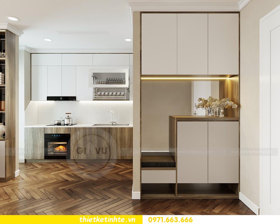 thiết kế nội thất căn hộ Vinhomes Metropolis tòa M3 căn 07 view 1
