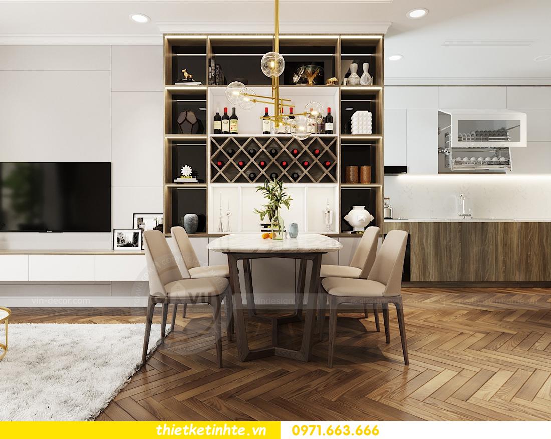thiết kế nội thất căn hộ Vinhomes Metropolis tòa M3 căn 07 view 3