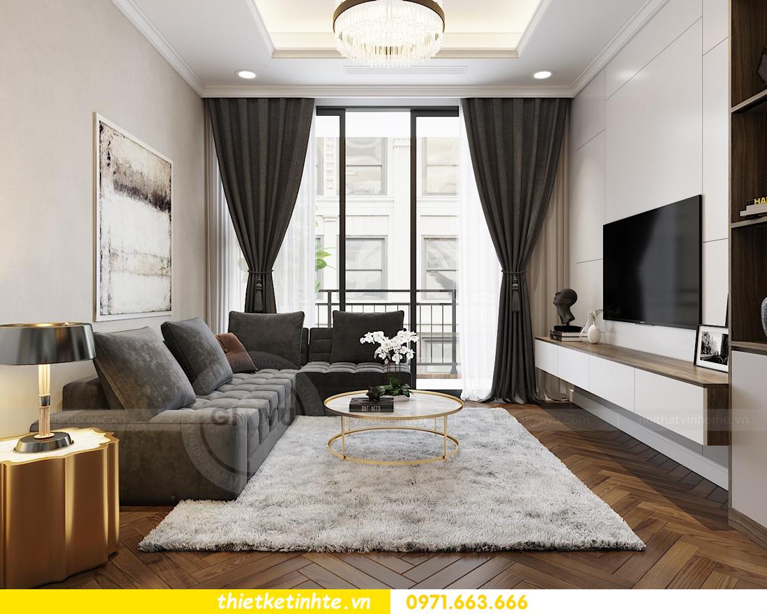 thiết kế nội thất căn hộ Vinhomes Metropolis tòa M3 căn 07 view 4