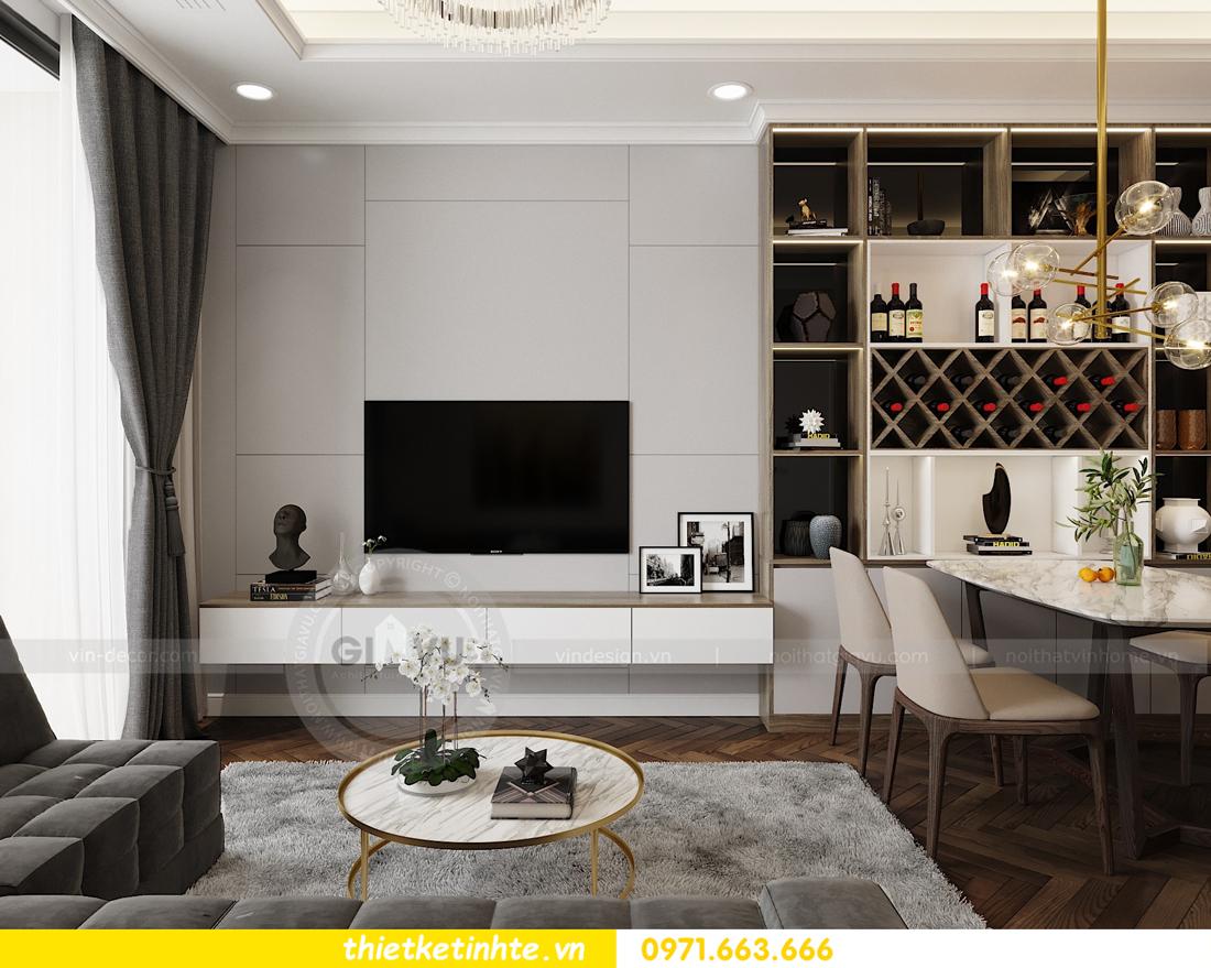 thiết kế nội thất căn hộ Vinhomes Metropolis tòa M3 căn 07 view 5