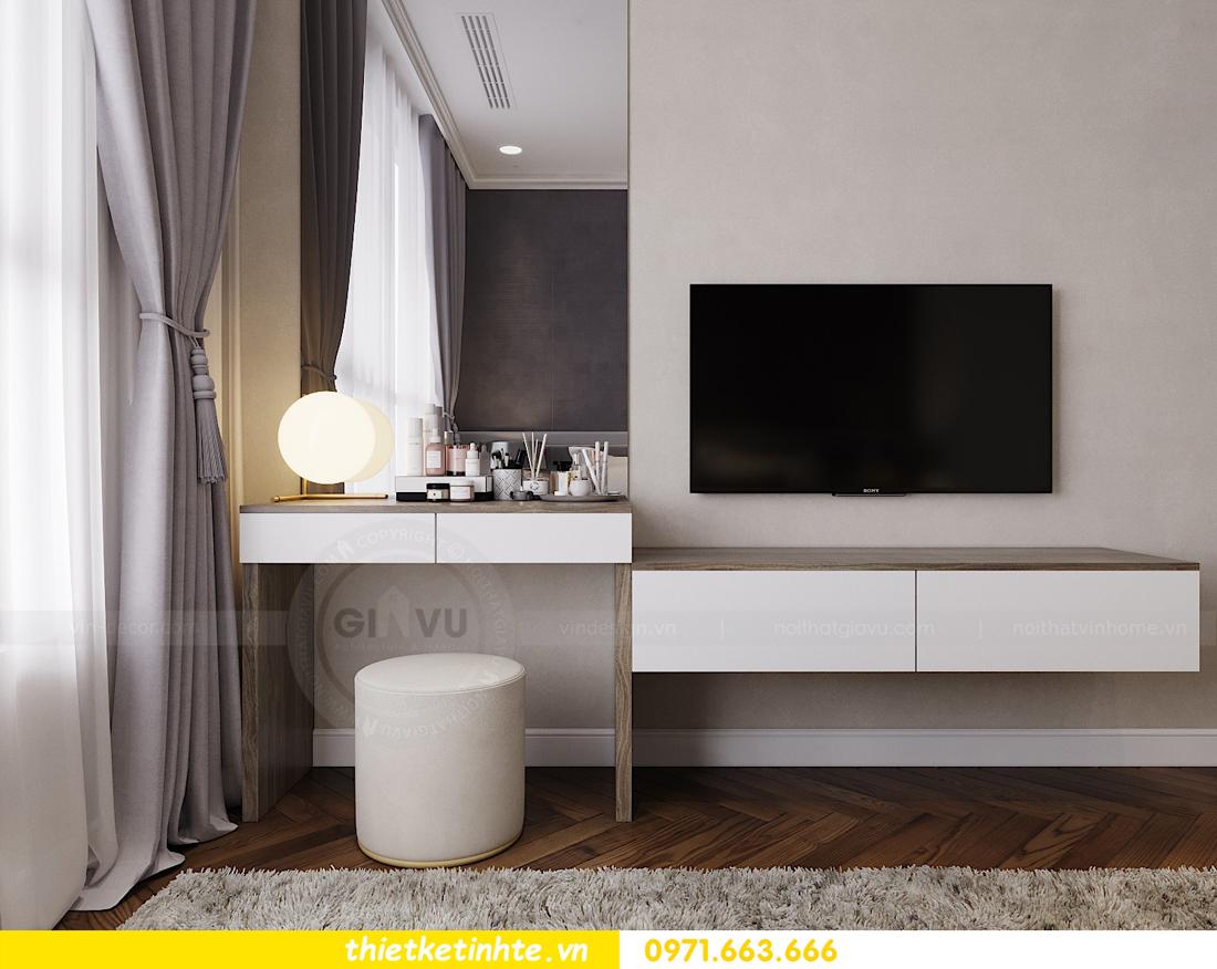 thiết kế nội thất căn hộ Vinhomes Metropolis tòa M3 căn 07 view 8