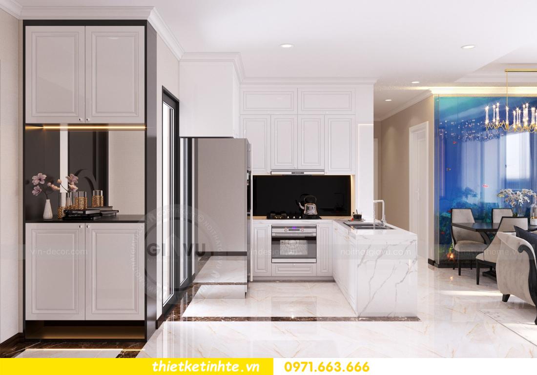 thiết kế nội thất căn hộ Vinhomes Trần Duy Hưng tòa C1 01