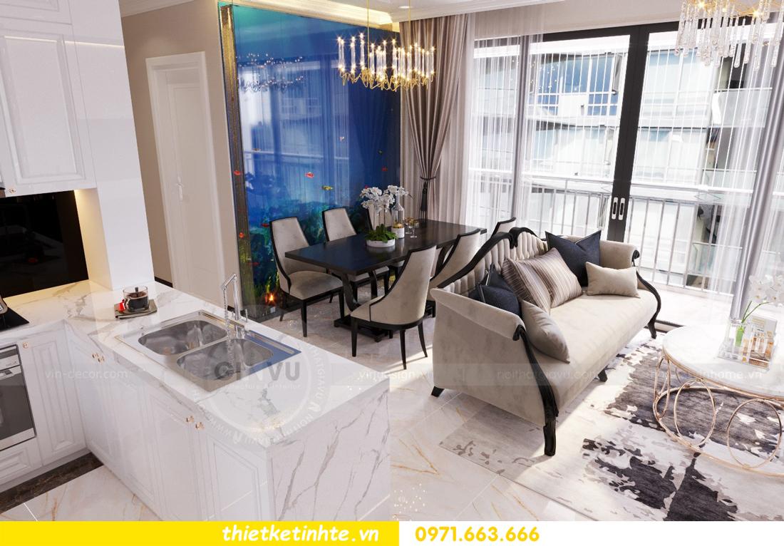 thiết kế nội thất căn hộ Vinhomes Trần Duy Hưng tòa C1 02