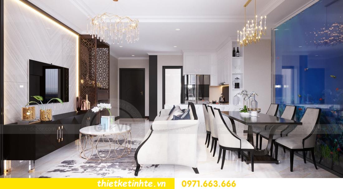 thiết kế nội thất căn hộ Vinhomes Trần Duy Hưng tòa C1 03
