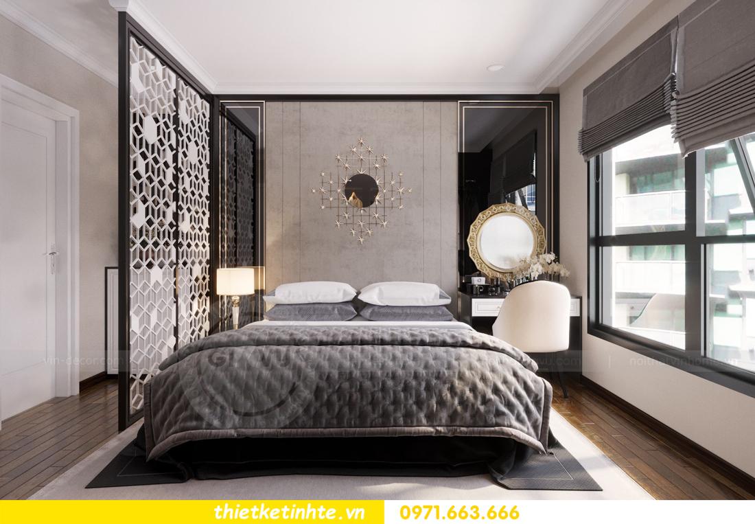 thiết kế nội thất căn hộ Vinhomes Trần Duy Hưng tòa C1 06