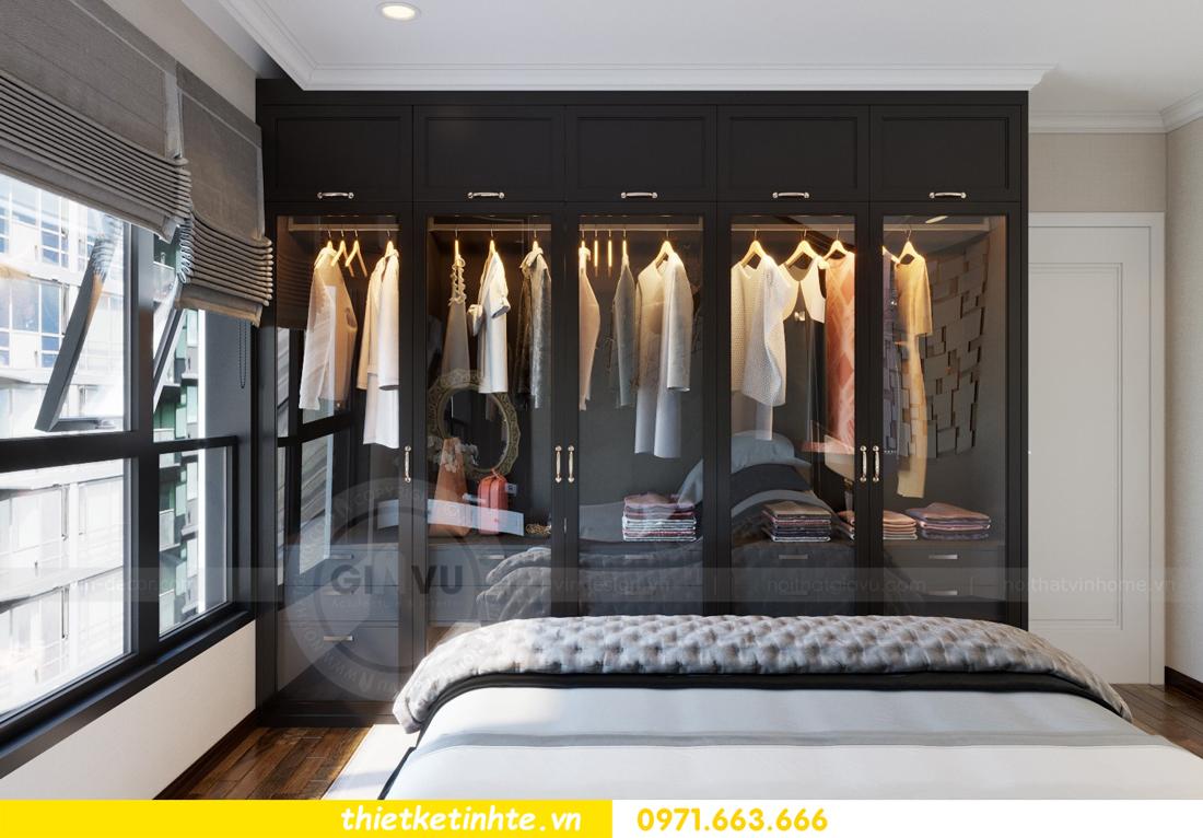 thiết kế nội thất căn hộ Vinhomes Trần Duy Hưng tòa C1 07