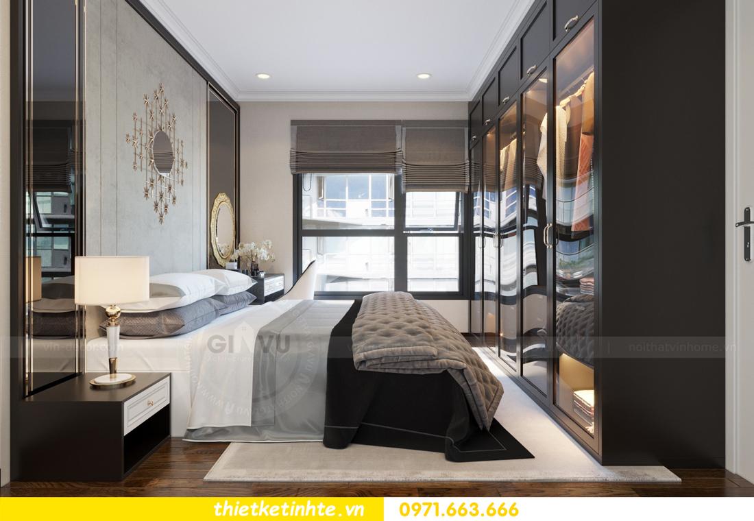 thiết kế nội thất căn hộ Vinhomes Trần Duy Hưng tòa C1 08