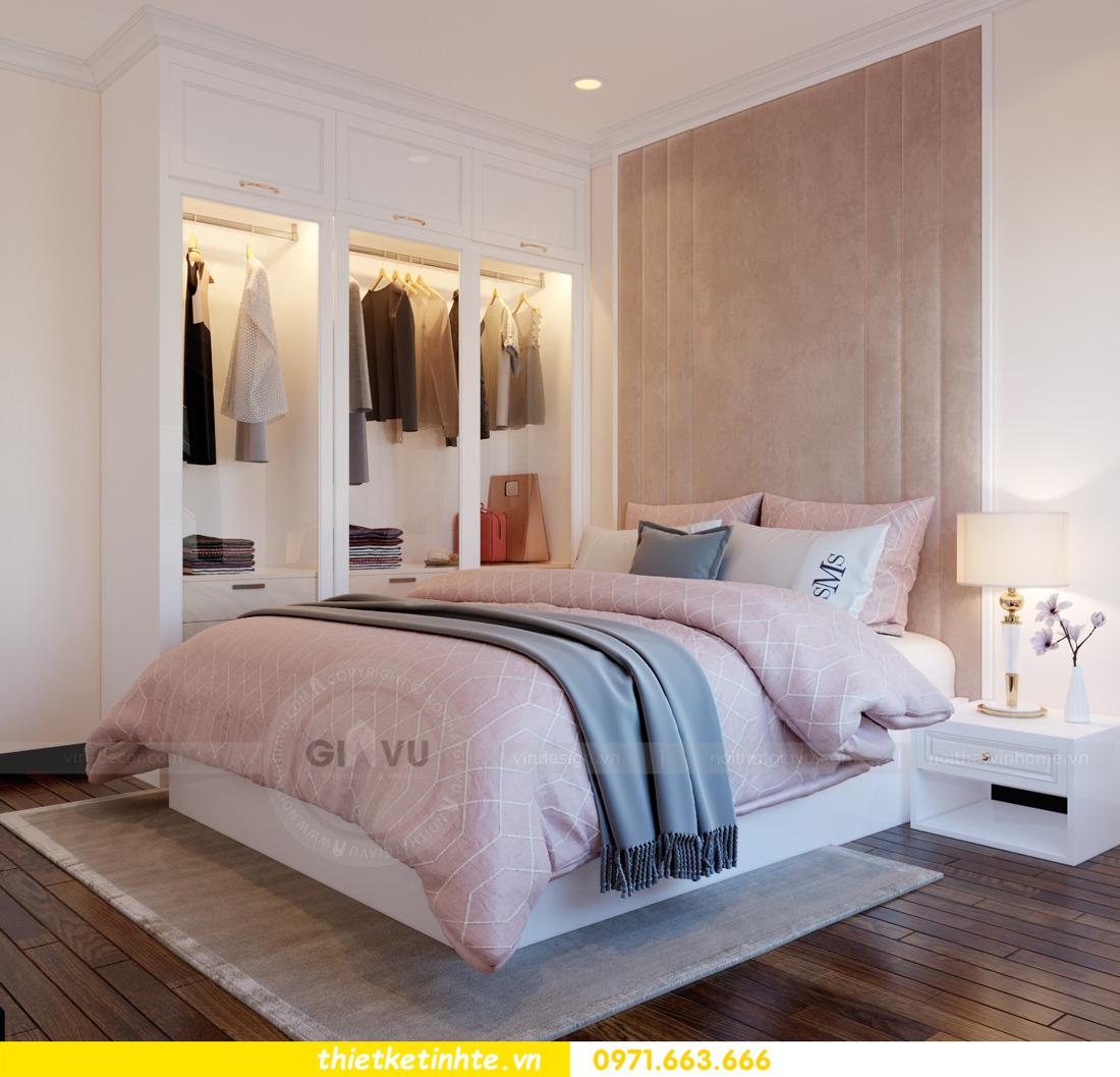 thiết kế nội thất căn hộ Vinhomes Trần Duy Hưng tòa C1 10